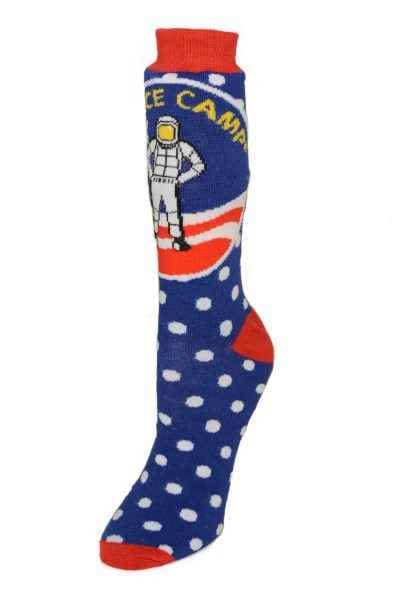 Space Camp All Over Printed Socks - ADULT