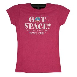 Got Space Camp Girl JR Cap Sleeve Tee