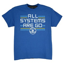 Systems Go Space Camp Tee
