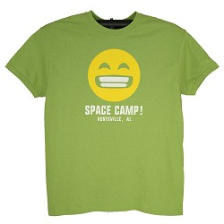 Emoji Space Camp Face Tee