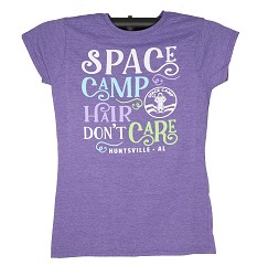 Space Camp Hair Girl JRs Tee