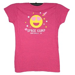 Emoji Space Camp Girl JRs Tee