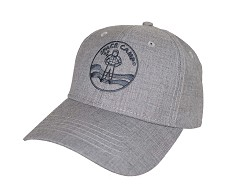 Space Camp Logo Melange Twill Cap