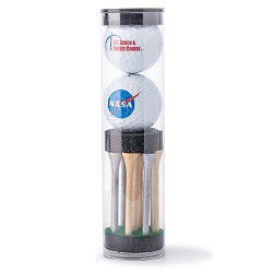 NASA Golf Balls and Tee Set