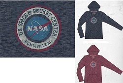 NASA Logo Ladies Hoodie,NASA,R12701/R312A