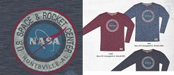 NASA Vector Men's Long-Sleeve T-Shirt,NASA,R12622/R322A
