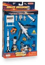 Space Mission 16-Pc playset