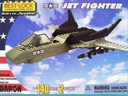 Jet Fighter Construction Toy