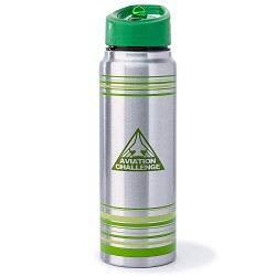 Aviation Challenge Stainless H2O Bottle