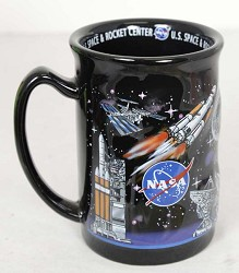 NASA 3D Raised Mug