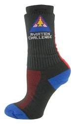 A/C Vertical Stripe Socks