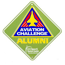 Aviation Challenge  Alumni Crossing Sign