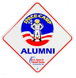 Space Camp Alumni Crossing Sign