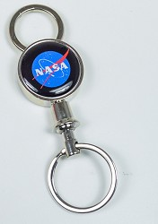 NASA Valet Key Chain