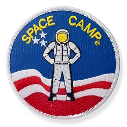 Space Camp Patch (Astronaut)