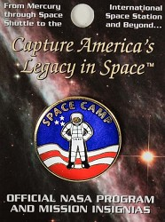 Space Camp Mission Pin - Astronaut
