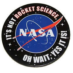 Not Rocket Science Coasters