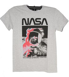 NASA Color Splash Moonwalk Adult Tee