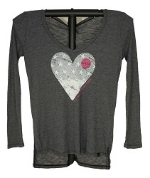 Always Heart JRs Thermal Tee