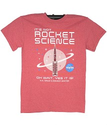 It's Not Rocket Science Adult T-Shirt