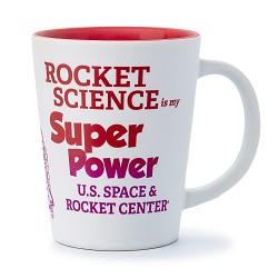 Rocket Science Super Power Two Tone Latte Mug