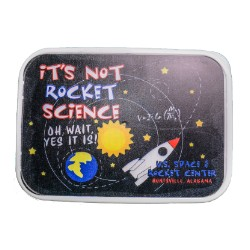 It's Not Rocket Science Snap-Lid Bento Lunch Box