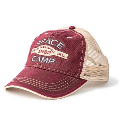 Space Camp HSVL EST 1982 Washed Cotton Cap