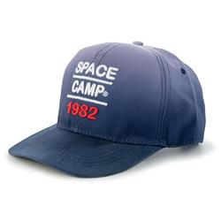 Space Camp 1982 Flat Brim Dip-Dyed Cap