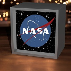 NASA Vector Logo Lightbox,NASA,LBX-W-26065