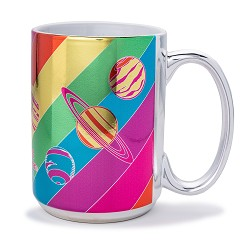 15oz Metallic Mug,ROCKET CENTER,CER375/DS21707-C1
