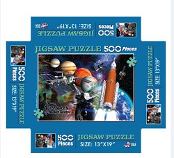 500 pc Collage Jigsaw Puzzle