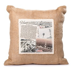 Square Jute Pillow