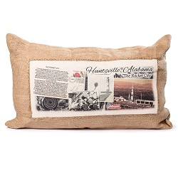 Rectangle Jute Pillow
