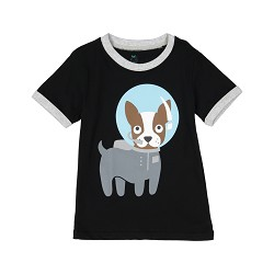 Space Dog Shirt 18M