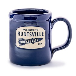 Rocket City Stoneware Mug NAVY