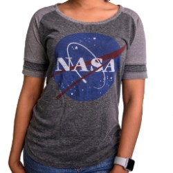NASA Meatball Football T-Shirt