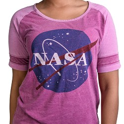 NASA VectorFootball T-Shirt