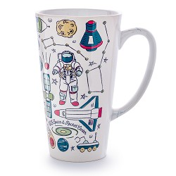 Space Icons Tall Latte Mug