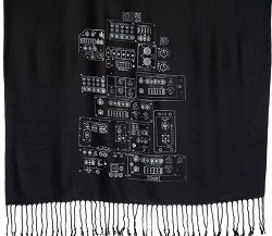Space Shuttle Controls Scarf