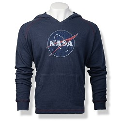 NASA Meatball Men's Thermal Hoodie