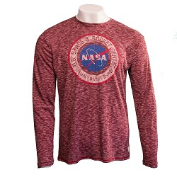 NASA Vector Men's Long-Sleeve T-Shirt