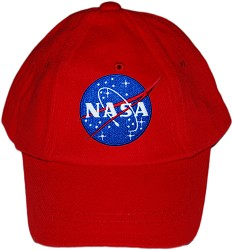 NASA Vector Baseball Cap RED TODDLER