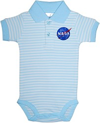 NASA Vector Stripe Polo Bodysuit