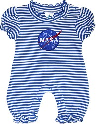 NASA Vector Stripe Bubble Romper,NASA,436