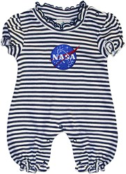 NASA Vector Stripe Bubble Romper