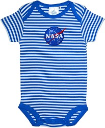 NASA Vector Stripe Bodysuit ROYAL 12M