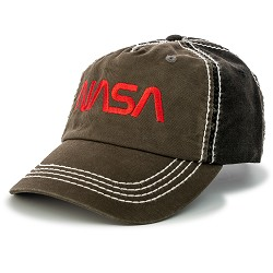 NASA Worm Logo Cap