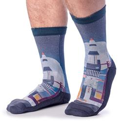Saturn V Rocket Launch Socks