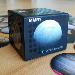 Moons and Planets Memory Matching Game