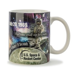 Apollo 11 Collage Mug